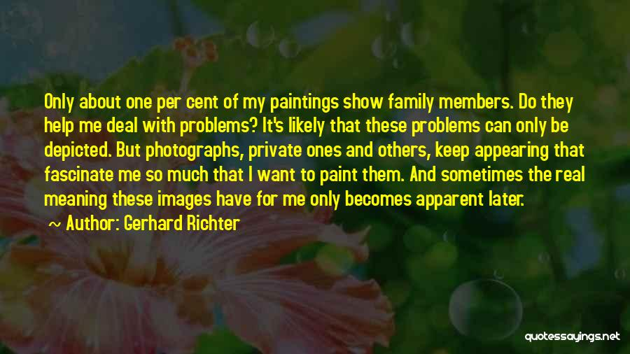 Keep It Private Quotes By Gerhard Richter