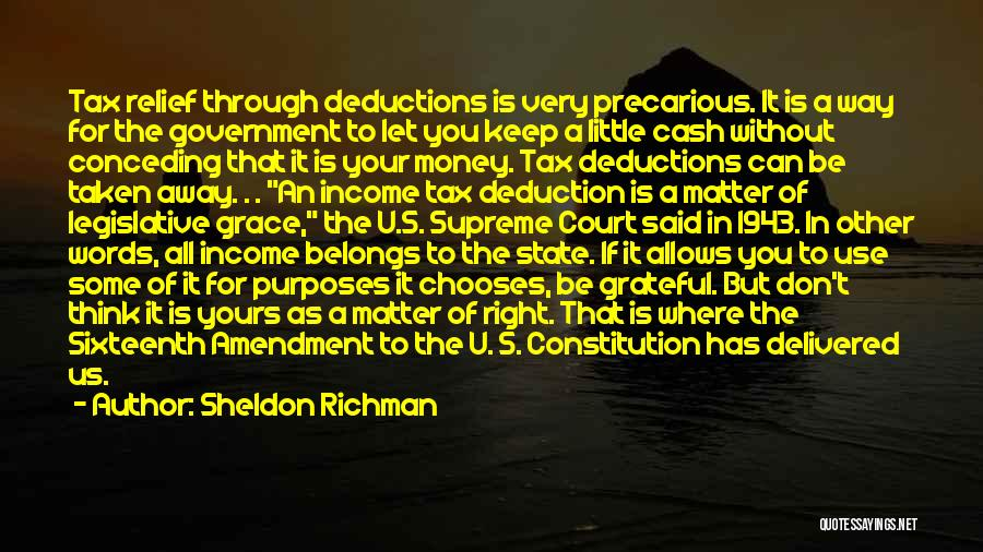 Keep It Private Quotes By Sheldon Richman