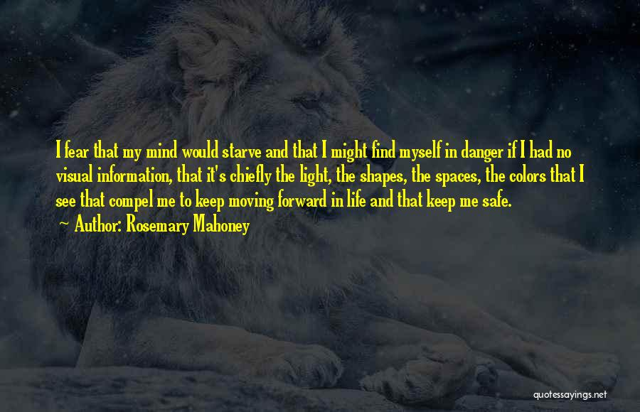 Keep Me Safe Quotes By Rosemary Mahoney