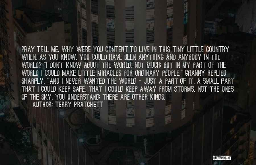 Keep Me Safe Quotes By Terry Pratchett