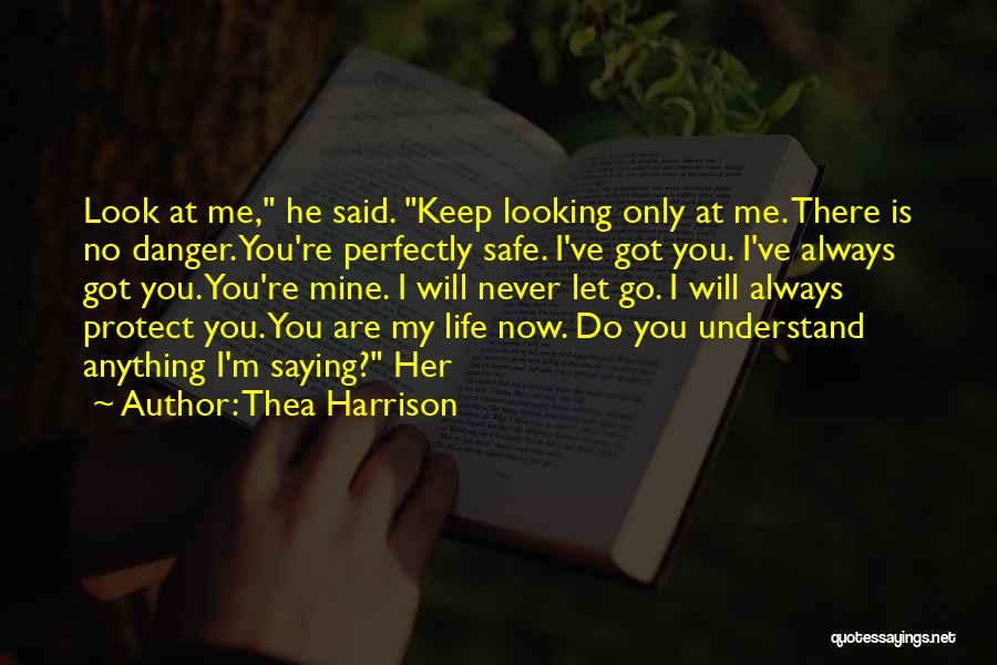 Keep Me Safe Quotes By Thea Harrison