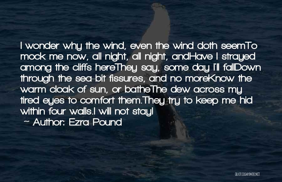 Keep Me Warm At Night Quotes By Ezra Pound