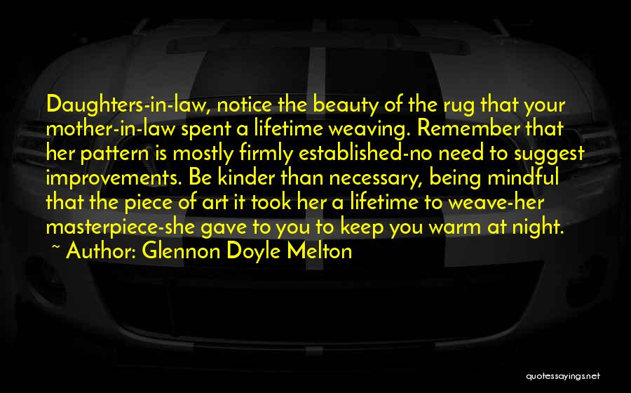 Keep Me Warm At Night Quotes By Glennon Doyle Melton