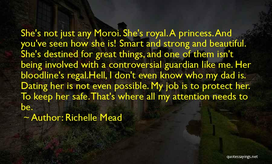 Keep On Being Strong Quotes By Richelle Mead