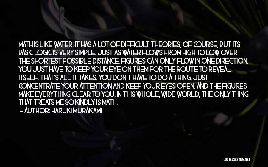 Keep One Eye Open Quotes By Haruki Murakami