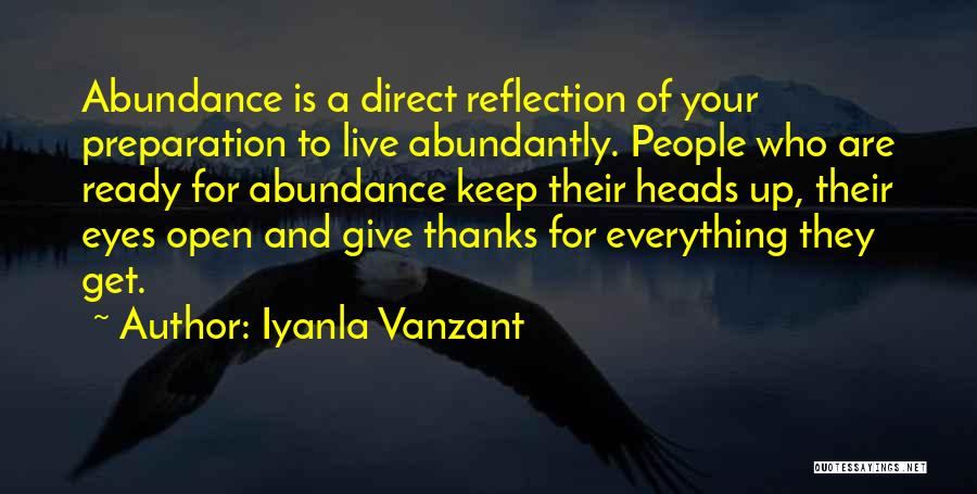 Keep One Eye Open Quotes By Iyanla Vanzant