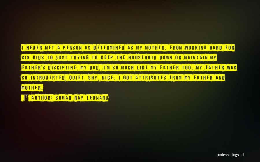 Keep Trying Hard Quotes By Sugar Ray Leonard