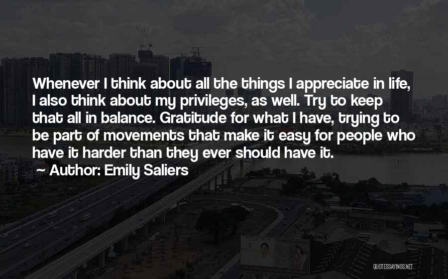Keep Trying In Life Quotes By Emily Saliers