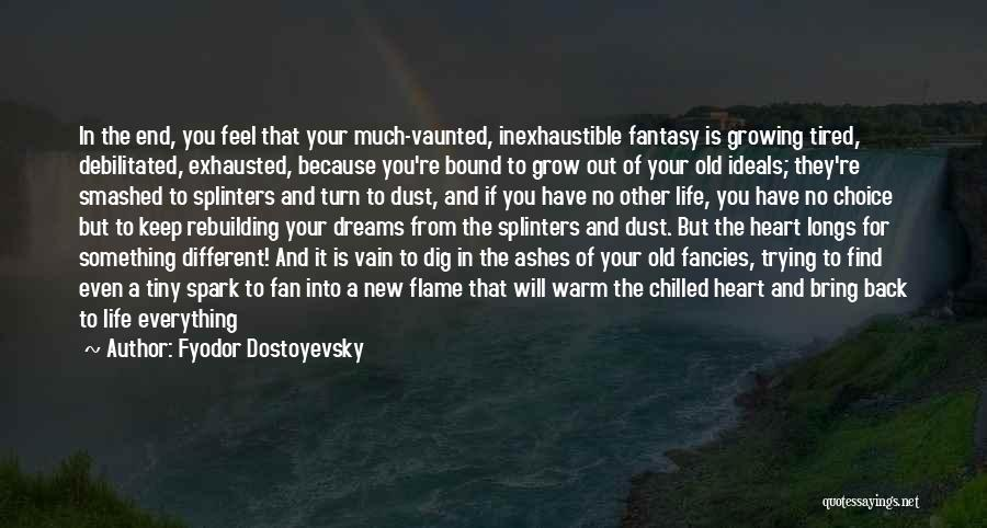 Keep Trying In Life Quotes By Fyodor Dostoyevsky