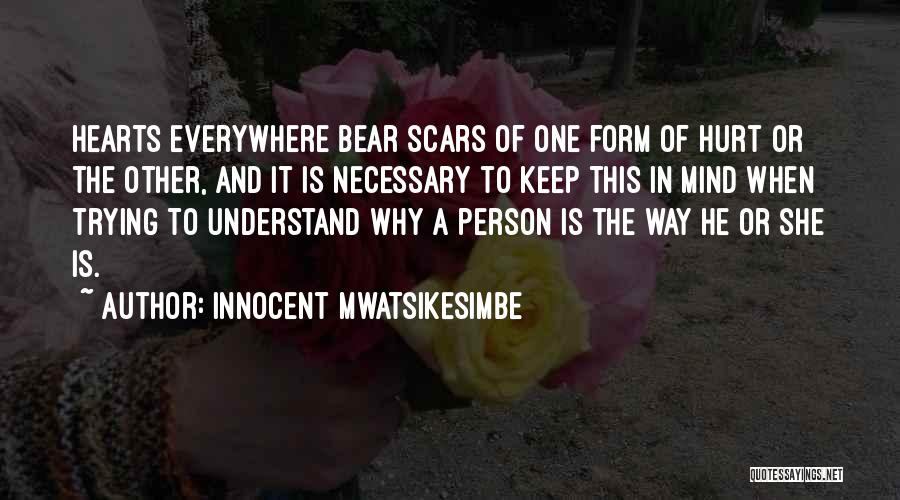 Keep Trying In Life Quotes By Innocent Mwatsikesimbe