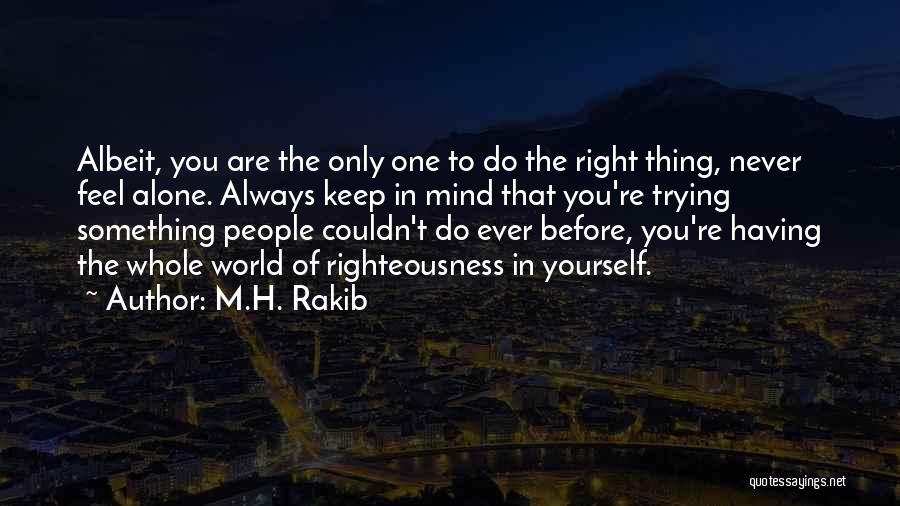 Keep Trying In Life Quotes By M.H. Rakib