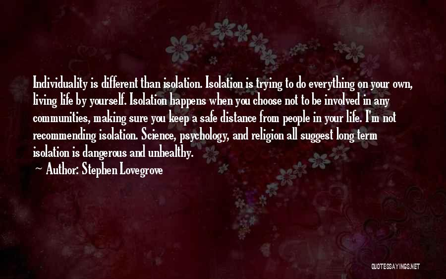 Keep Trying In Life Quotes By Stephen Lovegrove