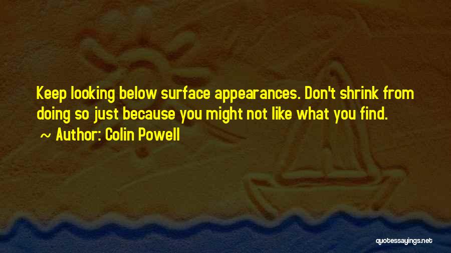 Keep Up Appearances Quotes By Colin Powell