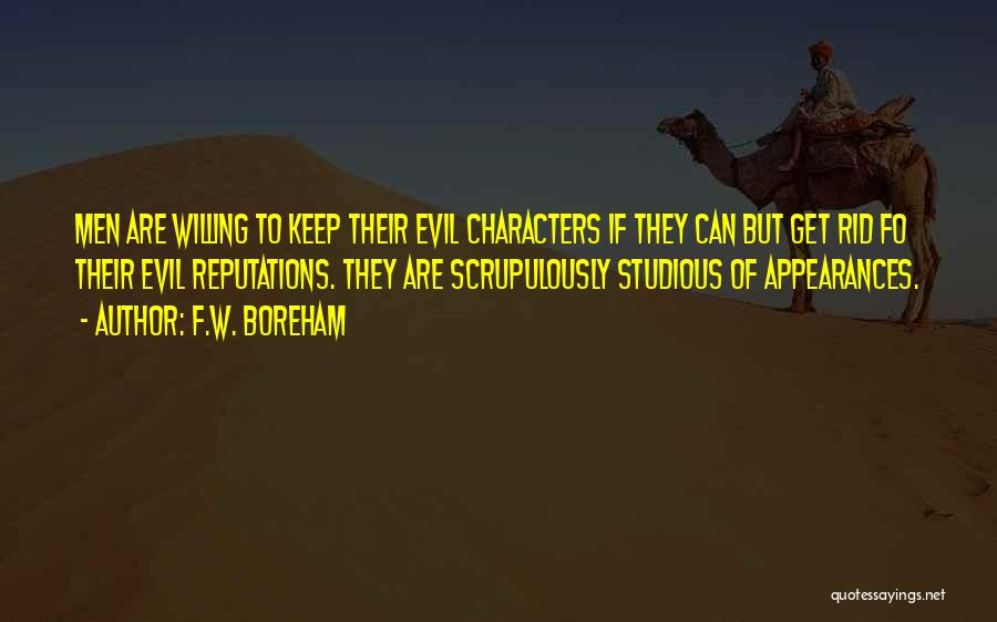 Keep Up Appearances Quotes By F.W. Boreham
