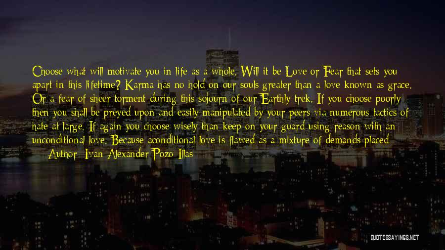 Keep Your Guard Up Love Quotes By Ivan Alexander Pozo-Illas