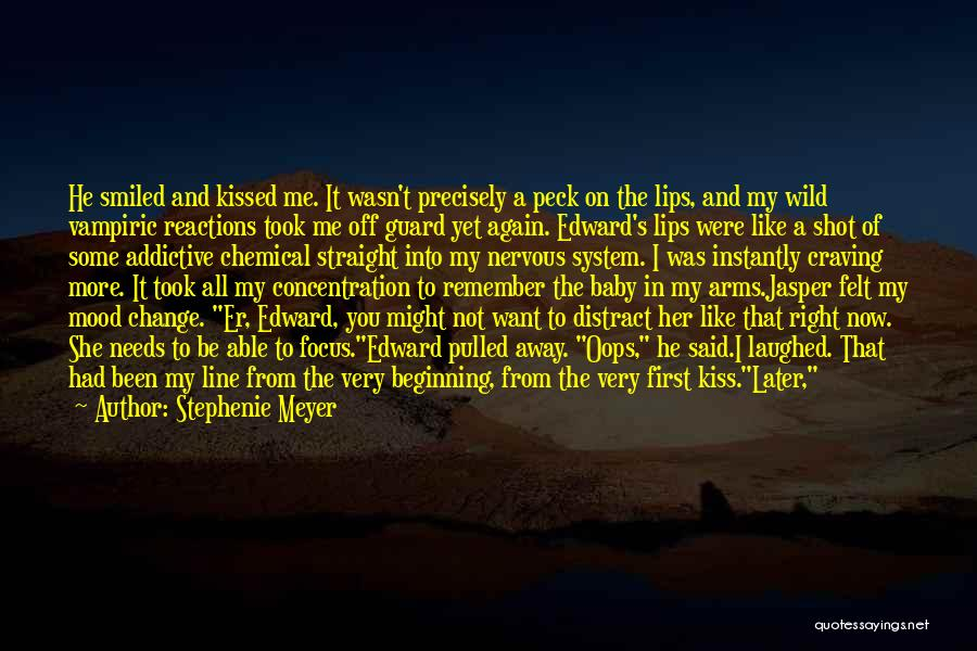 Keep Your Guard Up Love Quotes By Stephenie Meyer