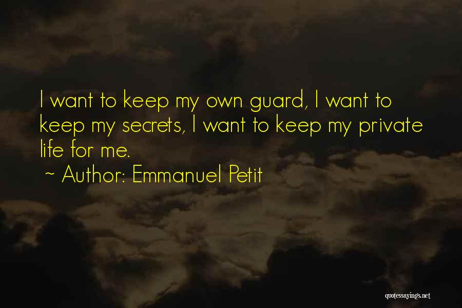 Top 46 Quotes & Sayings About Keep Your Guard Up