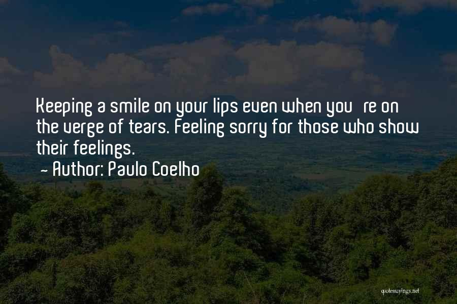 Keeping A Smile Quotes By Paulo Coelho