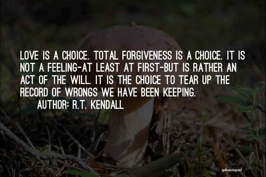 Keeping Feelings To Yourself Quotes By R.T. Kendall