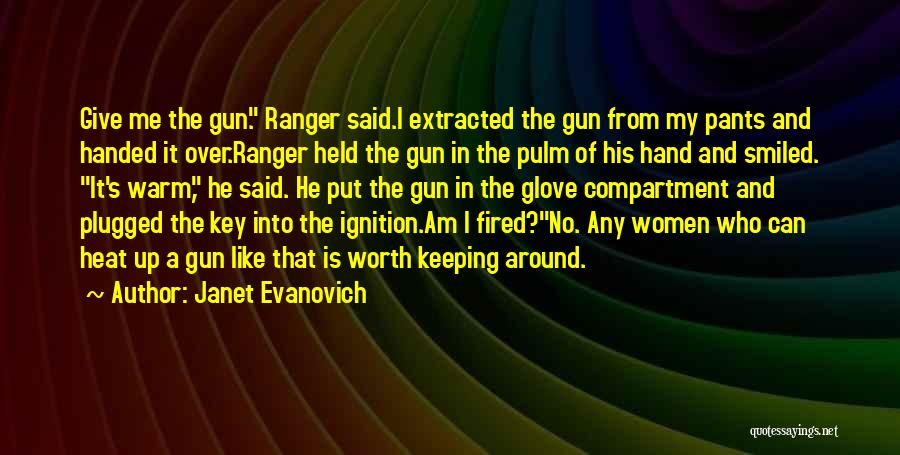 Keeping Me Warm Quotes By Janet Evanovich