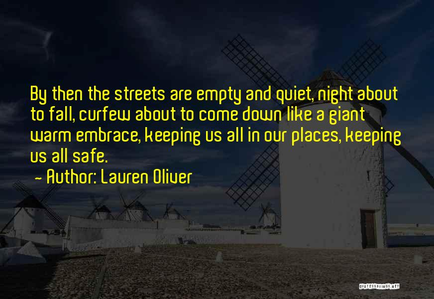 Keeping Me Warm Quotes By Lauren Oliver