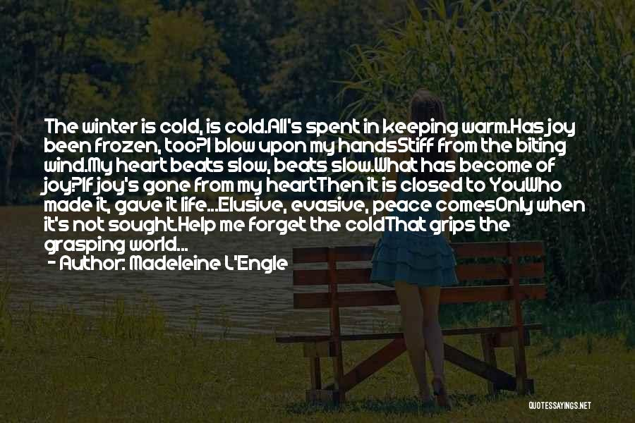 Keeping Me Warm Quotes By Madeleine L'Engle