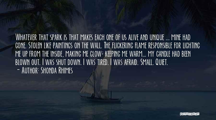 Keeping Me Warm Quotes By Shonda Rhimes