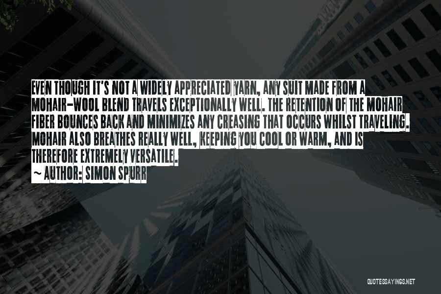 Keeping Me Warm Quotes By Simon Spurr