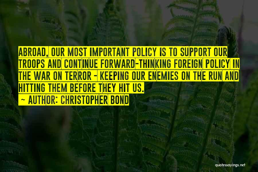 Keeping On Quotes By Christopher Bond