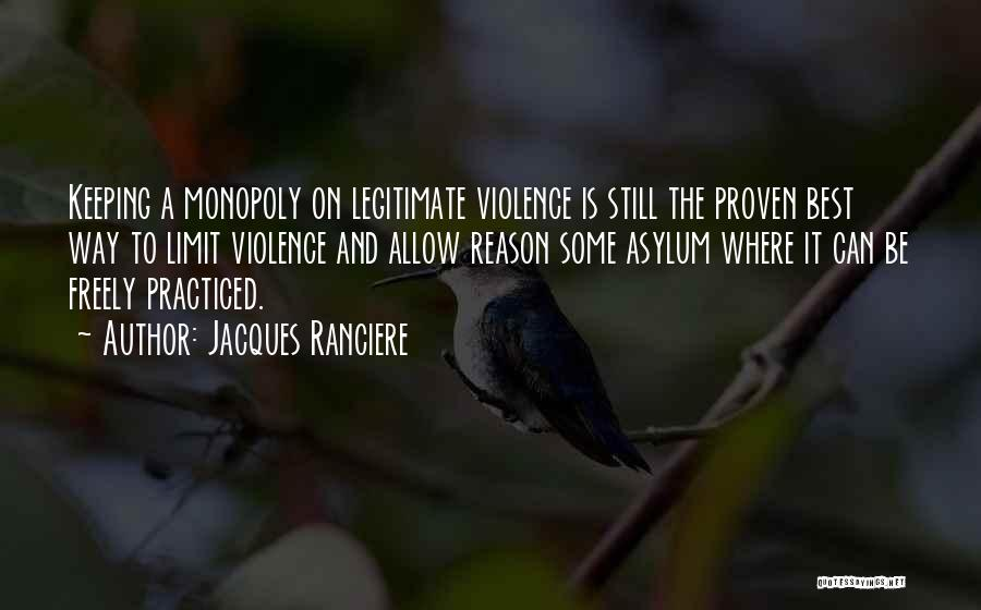 Keeping On Quotes By Jacques Ranciere