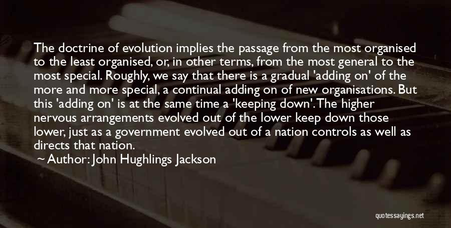 Keeping On Quotes By John Hughlings Jackson