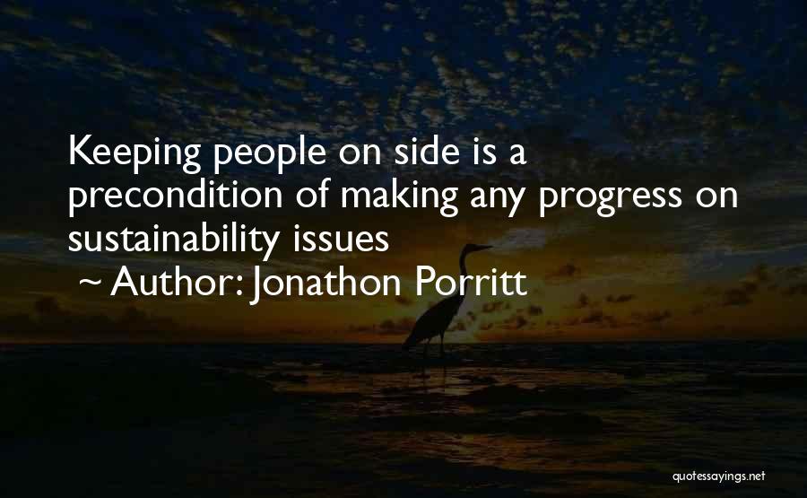 Keeping On Quotes By Jonathon Porritt