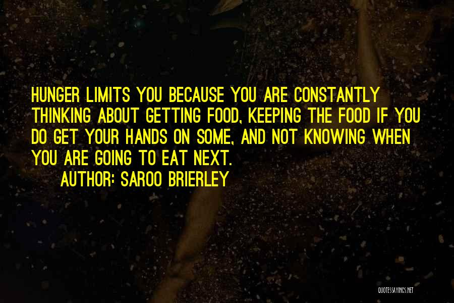 Keeping On Quotes By Saroo Brierley