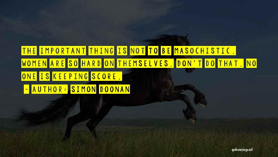 Keeping On Quotes By Simon Doonan