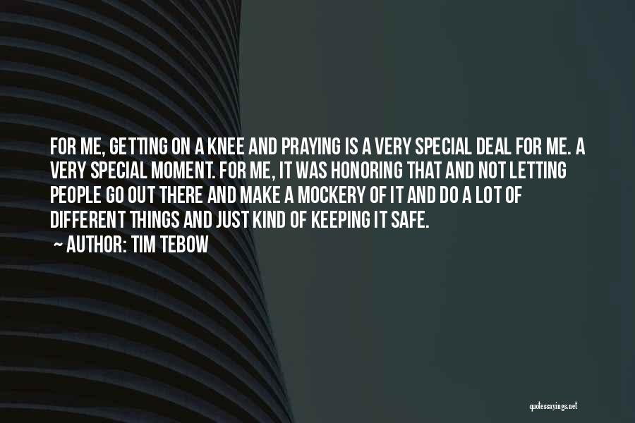Keeping On Quotes By Tim Tebow