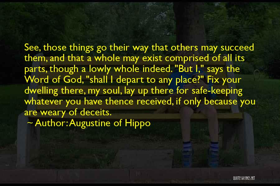 Keeping One's Word Quotes By Augustine Of Hippo