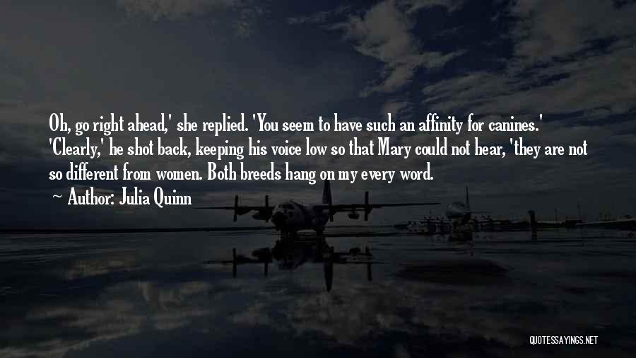 Keeping One's Word Quotes By Julia Quinn