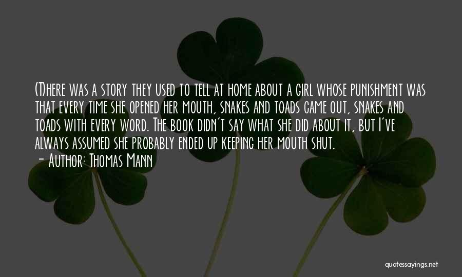 Keeping One's Word Quotes By Thomas Mann