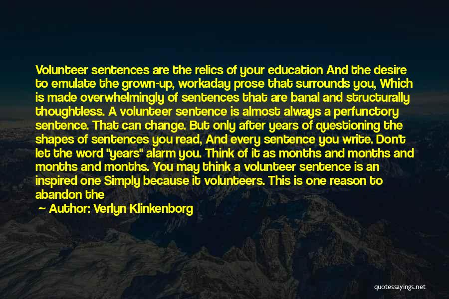 Keeping One's Word Quotes By Verlyn Klinkenborg