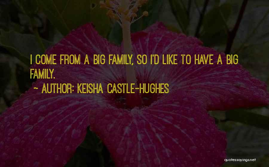 Keisha Castle-Hughes Quotes 664398