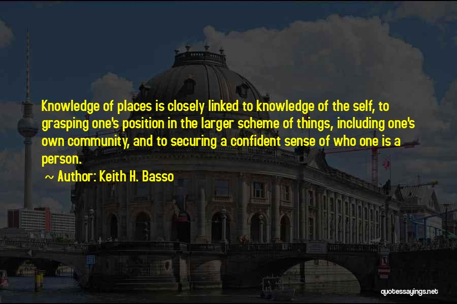 Keith H. Basso Quotes 470707