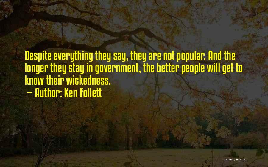 Ken Follett Quotes 621184