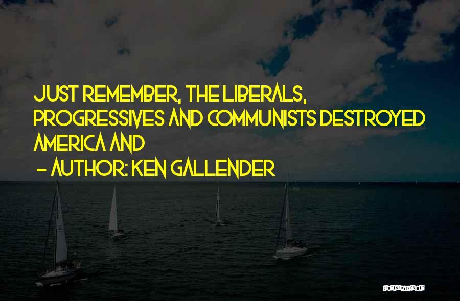 Ken Gallender Quotes 1420101