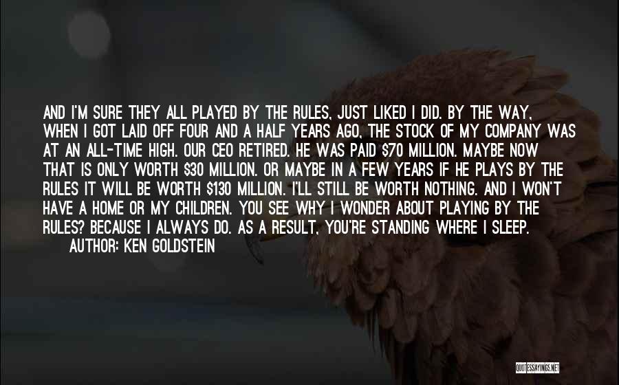 Ken Goldstein Quotes 1006347