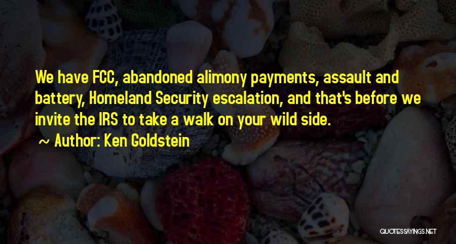 Ken Goldstein Quotes 1886312