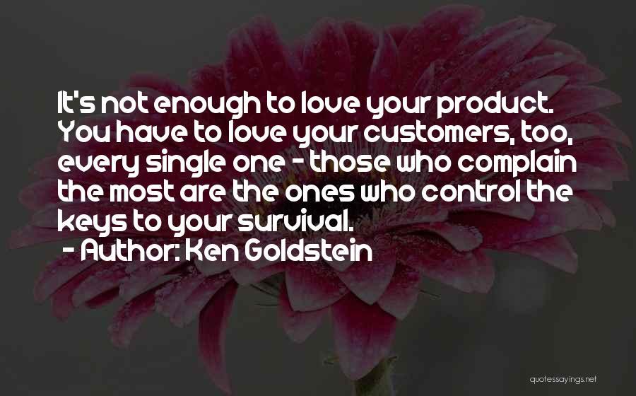 Ken Goldstein Quotes 2039965