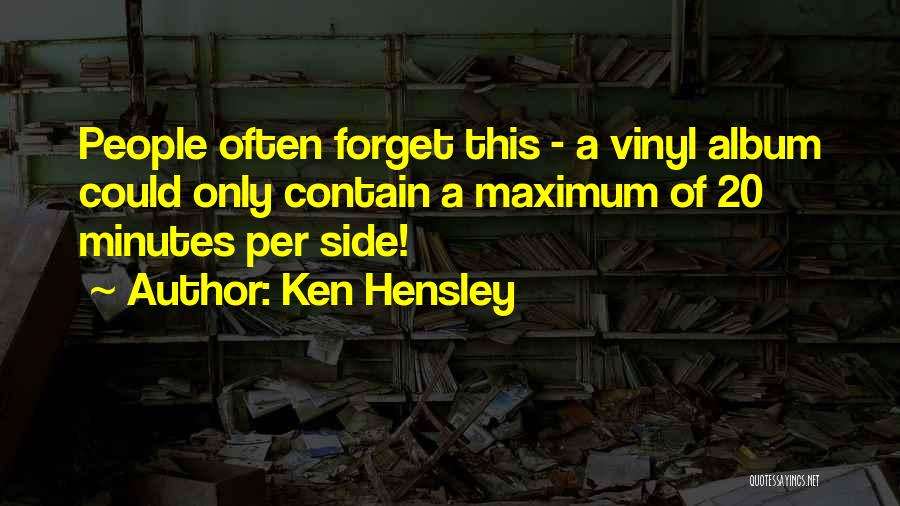 Ken Hensley Quotes 2246023