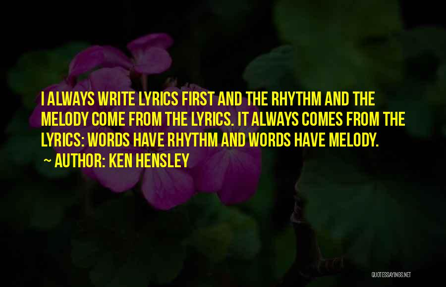 Ken Hensley Quotes 2247503