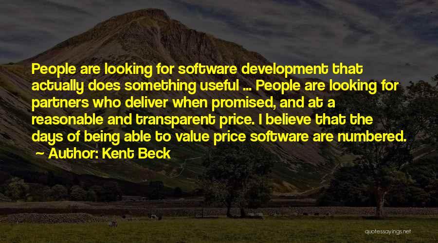 Kent Beck Quotes 1938195