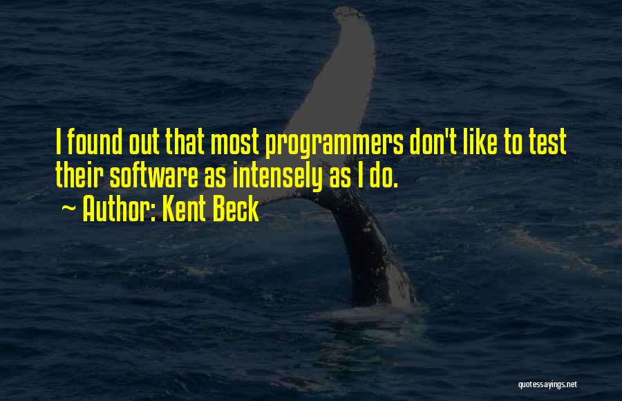 Kent Beck Quotes 383087